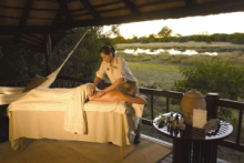Private Massage at the Camp