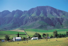 Swellendam is situated at the foot of the Langeberg Mountains