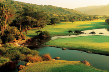 Enjoy a round of golf at the Gary Player Country Club